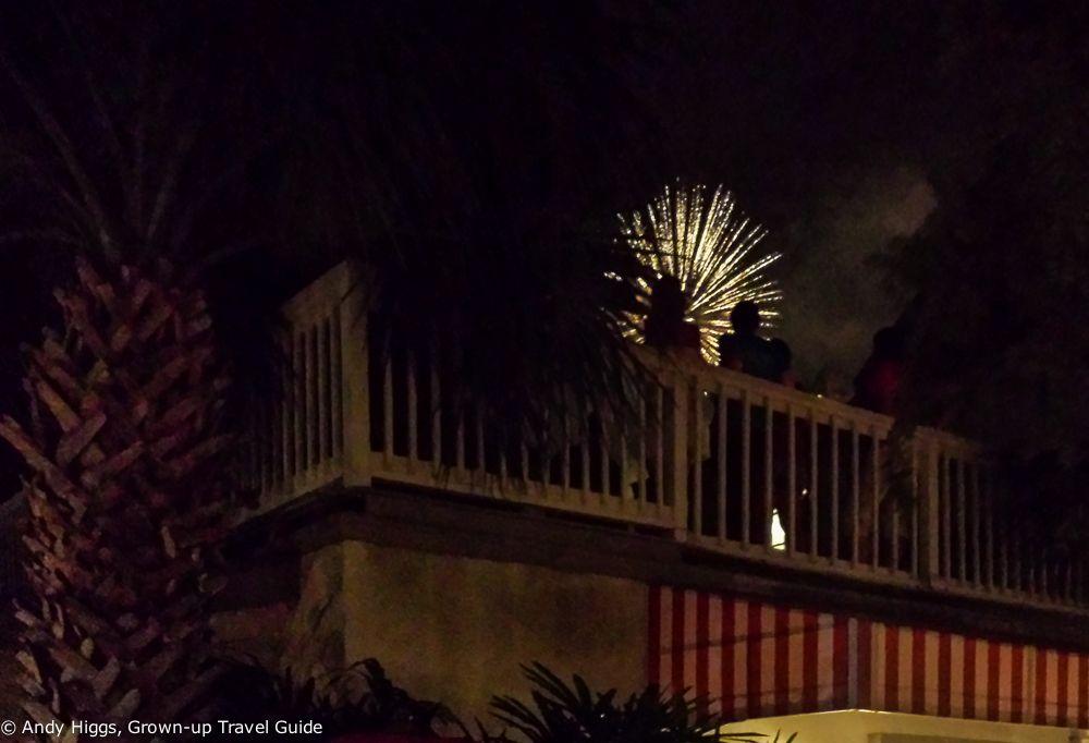 Fernandina Beach, 4th July fireworks