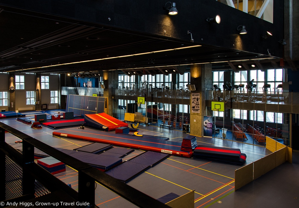 Nordkraft gym and play area