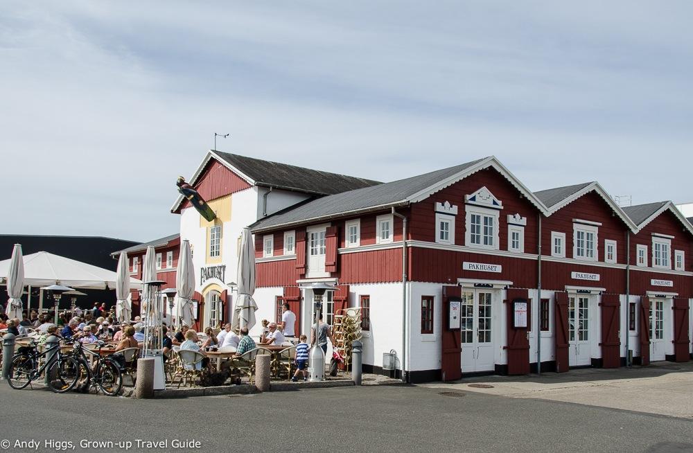 Pakhuset restaurant exterior, Skagen, Denmark