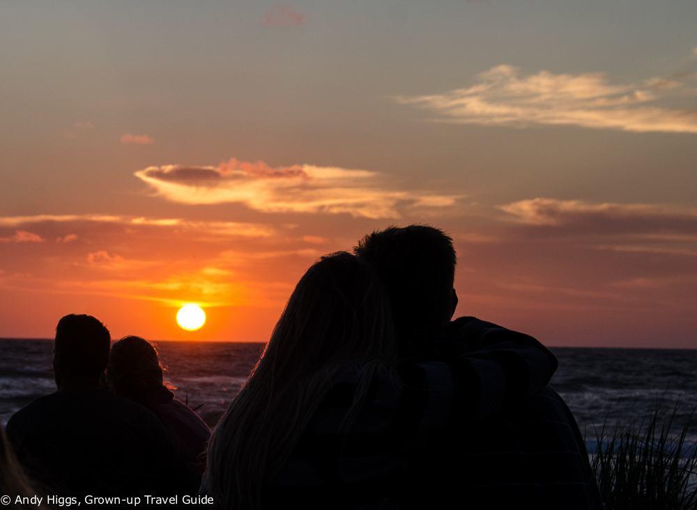 Sunset, Old Skagen, Denmark