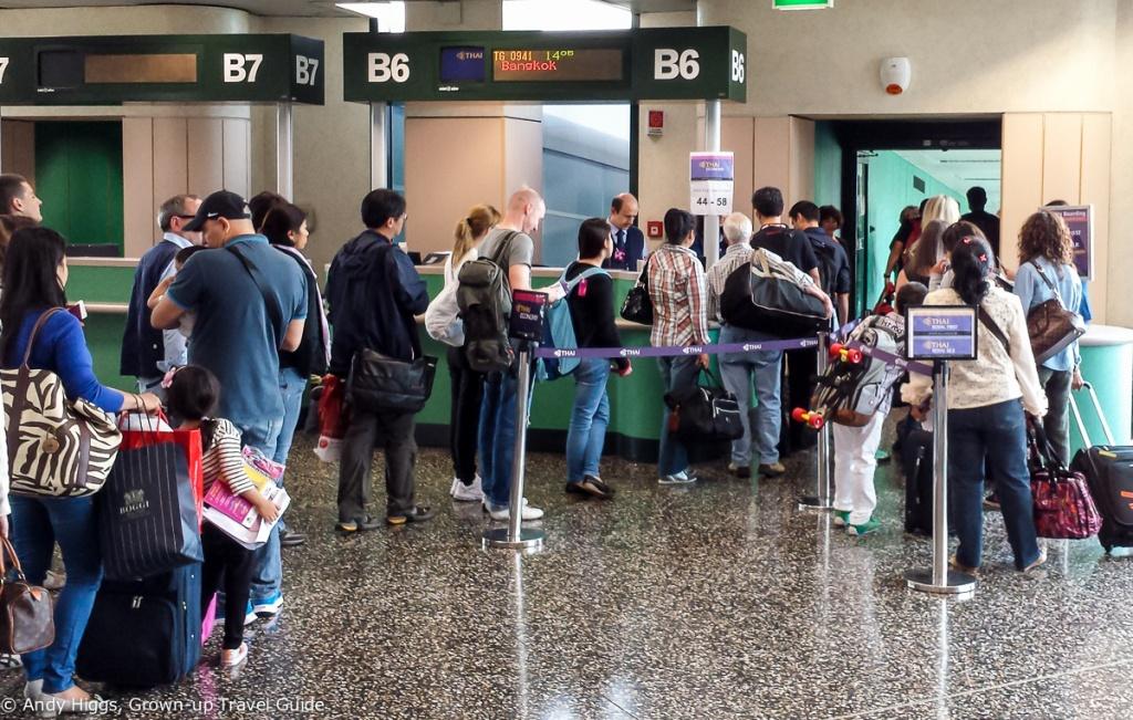 Boarding in Milan