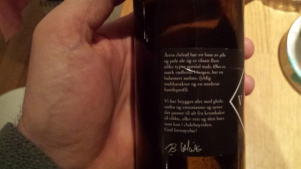 Grown-up Travel Guide Beer Diary Day 6: Juleøl (Christmas beer) from Lindesnes Bryggeri, Norway