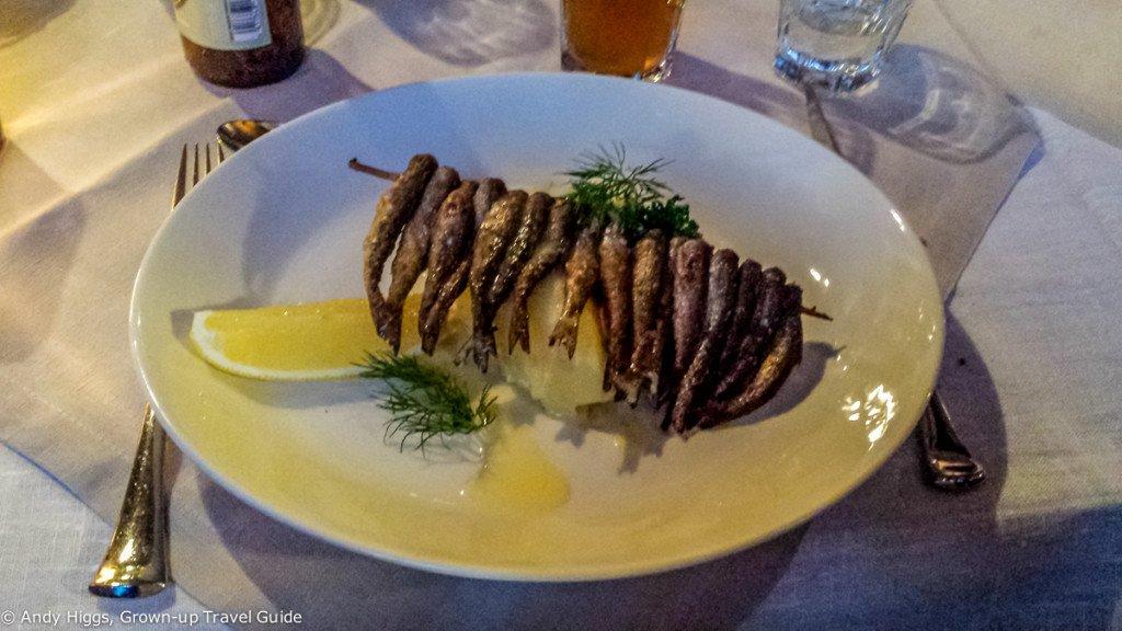 Bistro Vilee fish