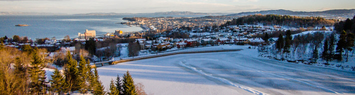 Theisendammen winter aerial_