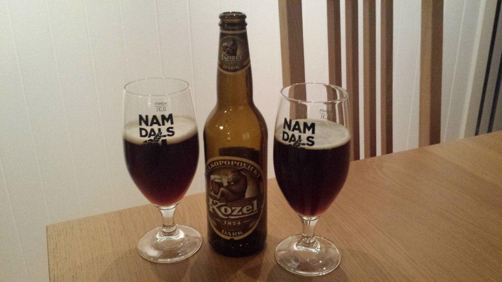 Grown-up Travel Guide Beer Diary Day 45: Velkopopovicky Dark beer from Kozel, Czech Republic