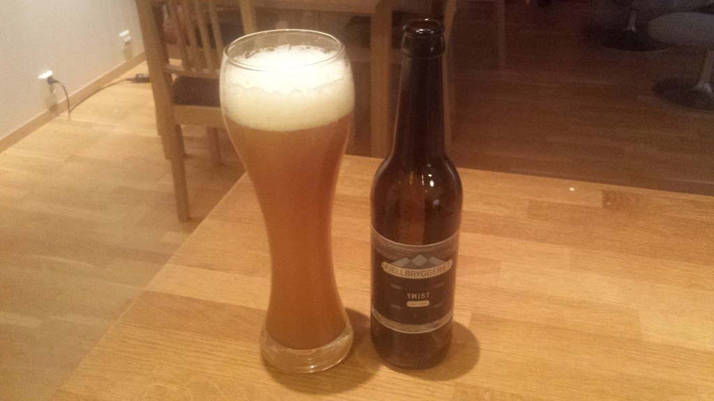 Grown-up Travel Guide Beer Diary Day 49: Ymist 5 from Fjellbryggeriet, Norway