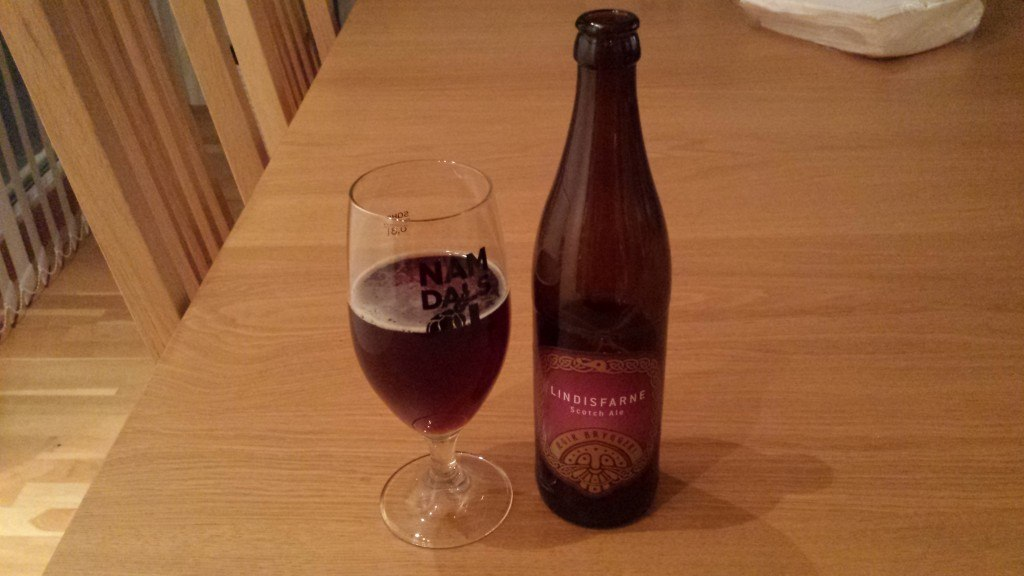 Grown-up Travel Guide Beer Diary Day 52: Lindisfarne Scotch Ale from Ægir Bryggeri, Flåm, Norway