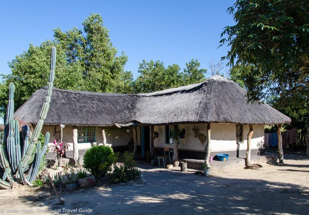 Chiefs house exterior