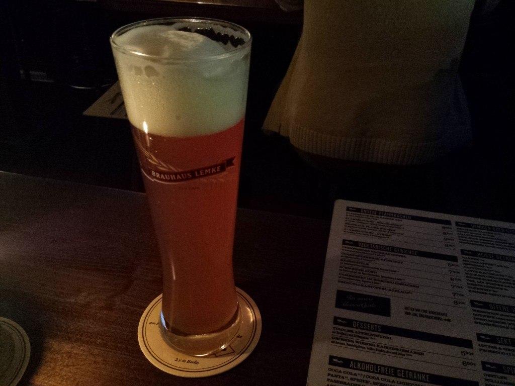 Grown-up Travel Guide Beer Diary Day 61: Lemke Weizenbier from Bauhaus Lemke, Berlin, Germany