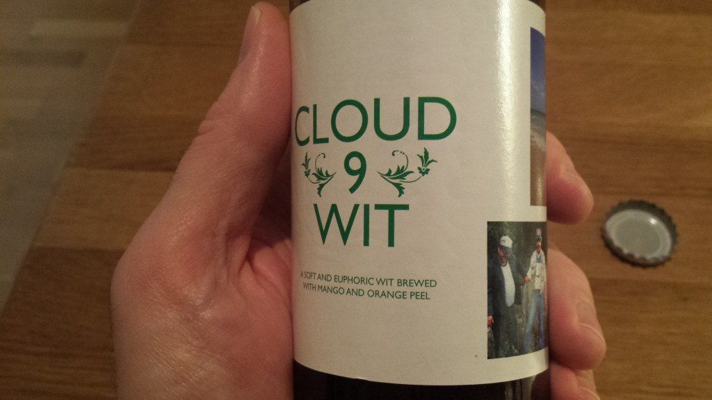 Grown-up Travel Guide Beer Diary Day 71: Cloud 9 Wit from To Øl Sessions, Copenhagen, Denmark - right