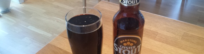 Grown-up Travel Guide Beer Diary - Day 153: Oyster Stout from Marston's Brewery of Burton Upon Trent, England