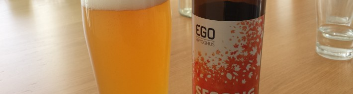 Grown-up Travel Guide Beer Diary - Day 159: Sesong from Ego Brygghus of Fredrikstad, Norway