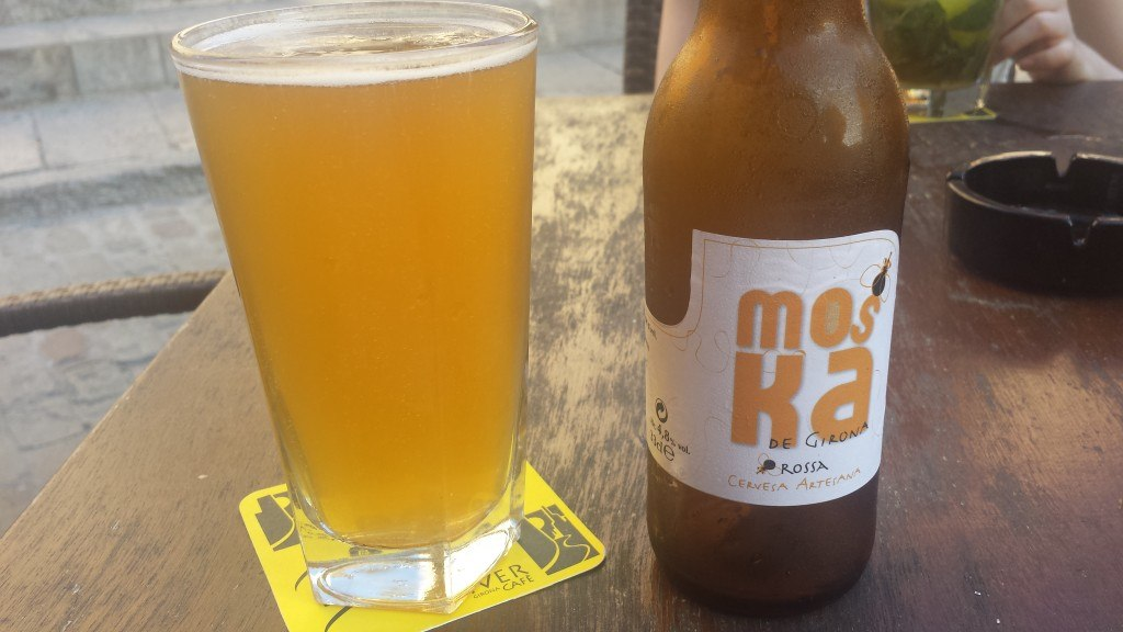 Grown-up Travel Guide Beer Diary - Day 191: Rossa from Moska de Girona of Girona, Spain