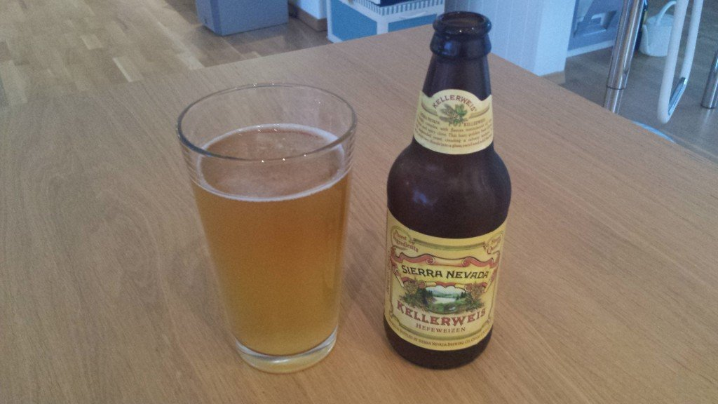Grown-up Travel Guide Beer Diary - Day 217: Kellerweis Hefeweizen from Sierra Nevada Brewing Co. of Chico, USA