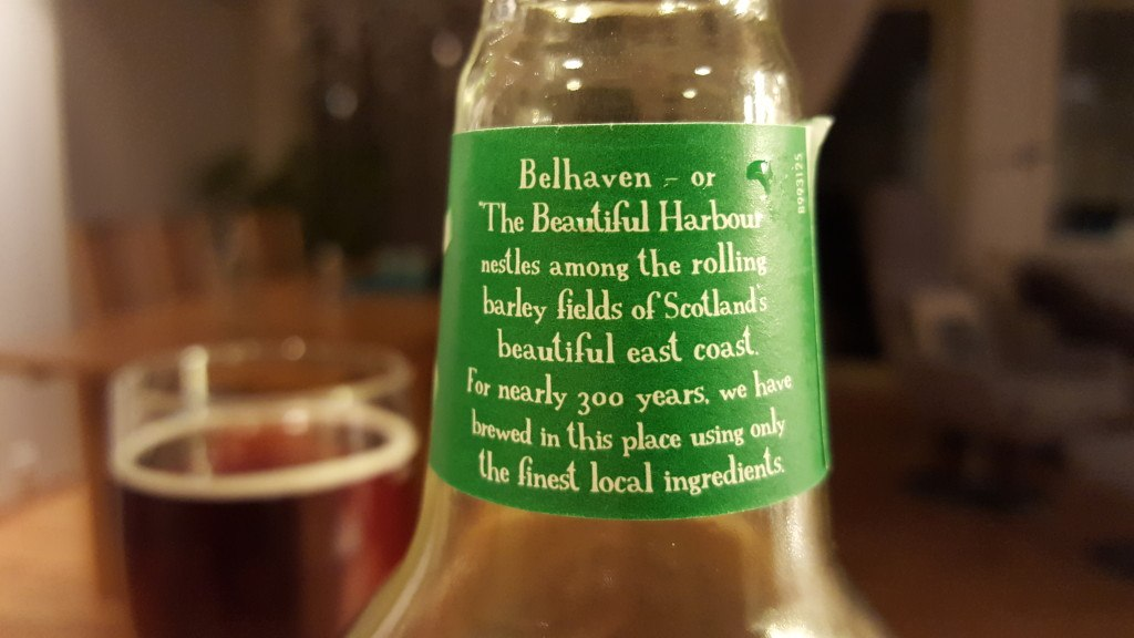 Grown-up Travel Guide Beer Diary - Day 239: St. Andrews Amber Ale from Belhaven Brewery of Dunbar, Scotland