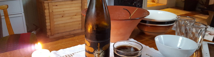 Grown-up Travel Guide Beer Diary - Day 241: London Porter from Haandbryggeriet of Drammen, Norway