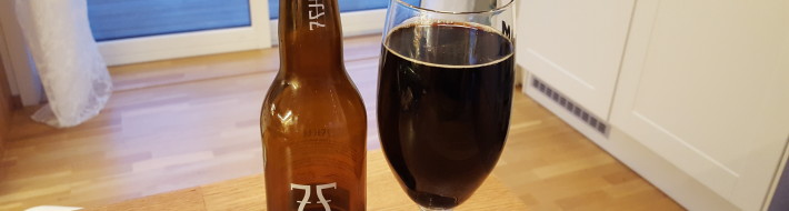 Grown-up Travel Guide Beer Diary - Day 243: Rundemanen Rye Stout from 7 Fjell Bryggeri of Bergen, Norway