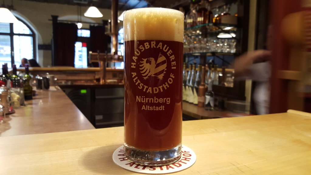 Grown-up Travel Guide Beer Diary - Day 287: Rotbier from Hausbrauerei Altstadthof of Nurember, Germany