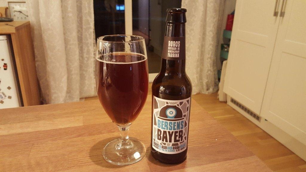 Grown-up Travel Guide Beer Diary - Day 292: Bersens Bayer from Røros Bryggeri og Mineralvann Fabrikk of Røros, Norway