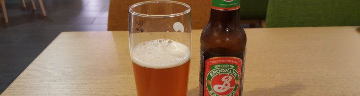 Grown-up Travel Guide Beer Diary - Day 305: Brooklyn East IPA from Brooklyn Brewery of Brooklyn, USA