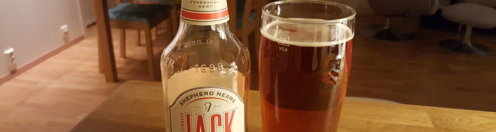 Grown-up Travel Guide Beer Diary - Day 317: Canterbury Jack from Shepherd Neame of Faversham, England