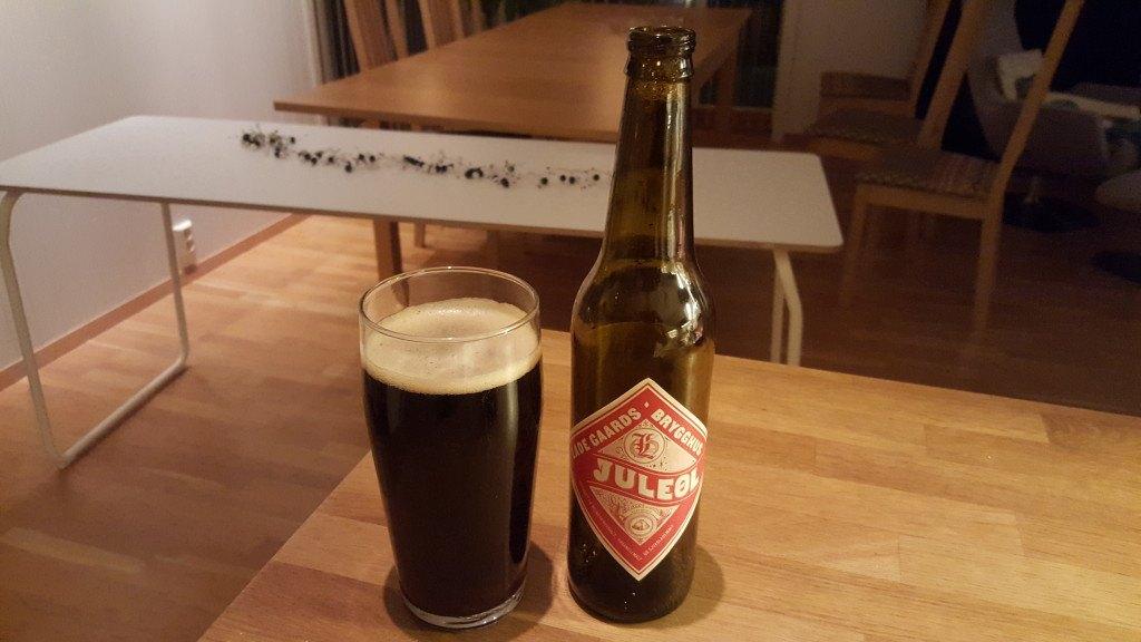 Grown-up Travel Guide Beer Diary - Day 339/Beer Advent Calendar Day 5: Lade Gaards Brygghus Juleøl from Grans Bryggeri of Sandefjord, Norway