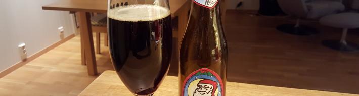 Grown-up Travel Guide Beer Diary - Day 348/Beer Advent Calendar Day 14: Julemanden's Trøst from Brouwerij Sterkens of Meer, Belgium
