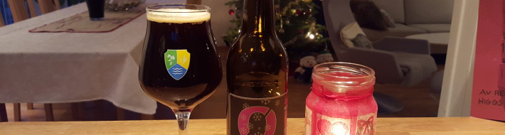 Grown-up Travel Guide Beer Diary - Day 358/Beer Advent Calendar Day 24: Underlig Jul from Nøgne Ø of Grimstad, Norway