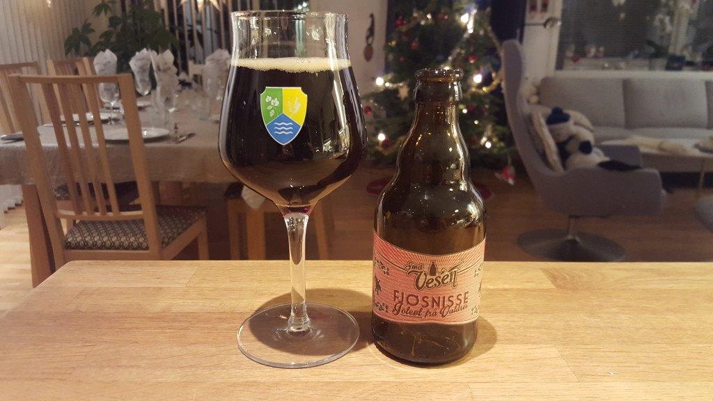 Grown-up Travel Guide Beer Diary - Day 366: Fjøsnisse Juleøl from Små Vesen of Aurdal, Norway