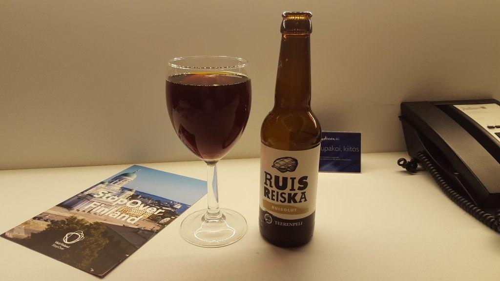 Grown-up Travel Guide Beer Diary - Number 385: RuisReiska from Panimo & Tislaamo of Helsinki, Finland