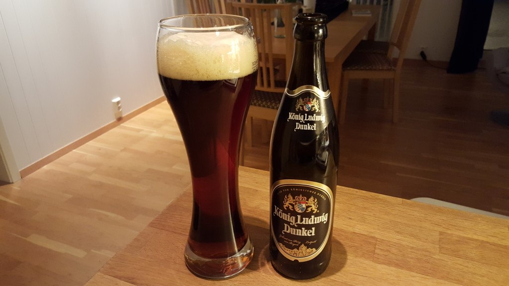 Grown-up Travel Guide Beer Diary - Number 396: Konig Ludwig Dunkel from Konig Ludwig Schlossbauerei of Kaltenberg, Germany